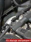 Co steruje wtryskami benzynowymi?