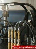 Test wtryskiwaczy benzynowych