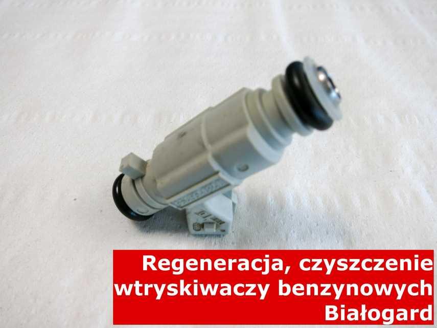 Wtryskiwacz piezoelektryczny benzynowy w Białogardzie po czyszczeniu, wyczyszczony przy pomocy odpowiedniego sprzętu