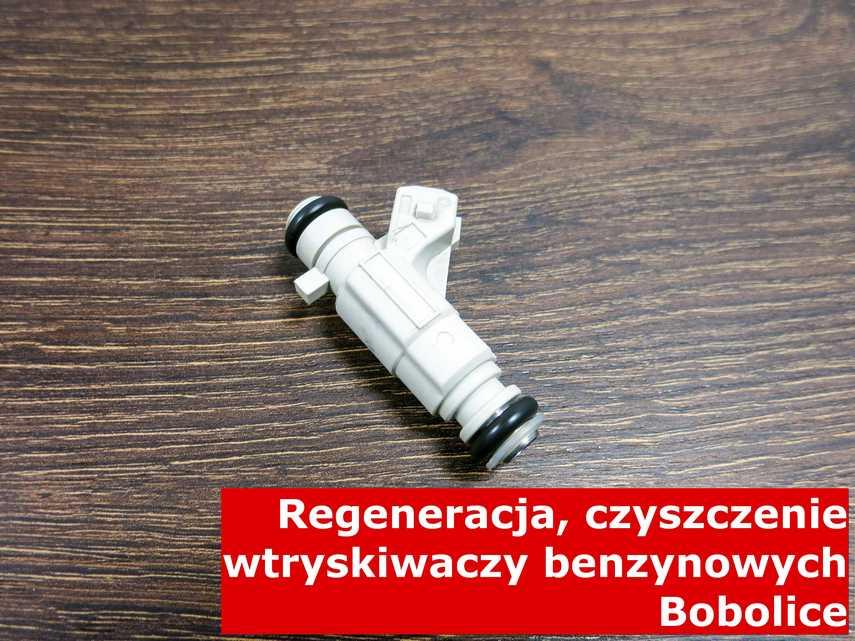 Wtryskiwacz wielopunktowy z Bobolic po regeneracji, testowany przy pomocy odpowiedniego sprzętu