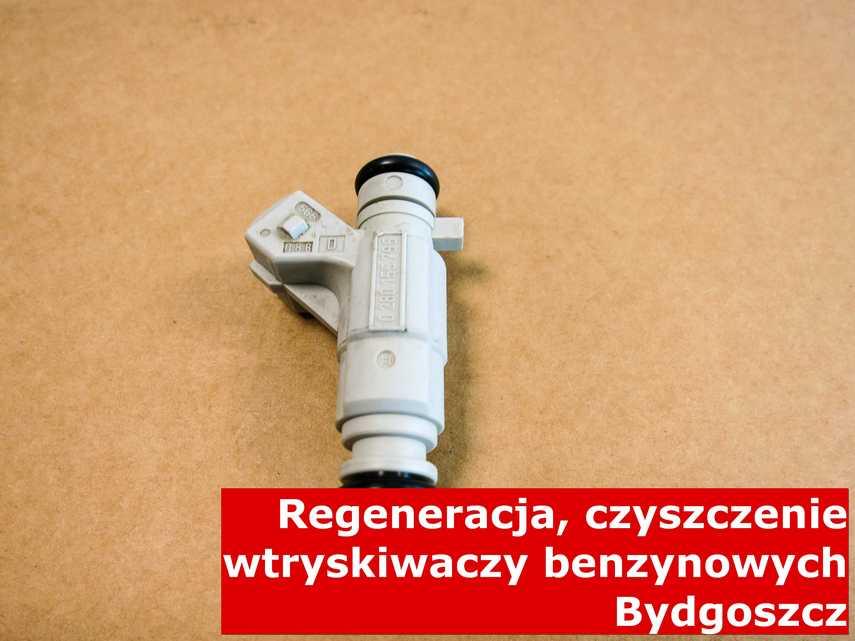 Wtryskiwacz jednopunktowy w Bydgoszczy na stole, wyczyszczony na odpowiedniej maszynie