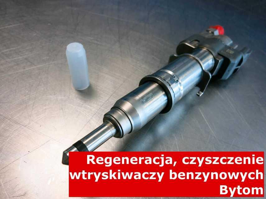 Wtrysk jednopunktowy z Bytomia po czyszczeniu, naprawiony przy pomocy nowoczesnego sprzętu