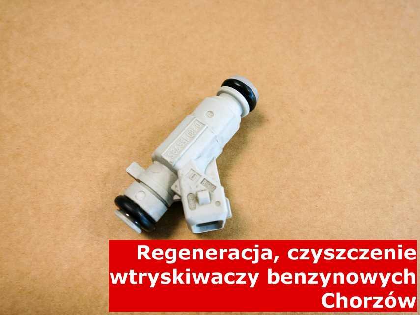 Wtryskiwacz wtrysku bezpośredniego w Chorzowie w laboratorium, testowany przy pomocy specjalnej maszyny