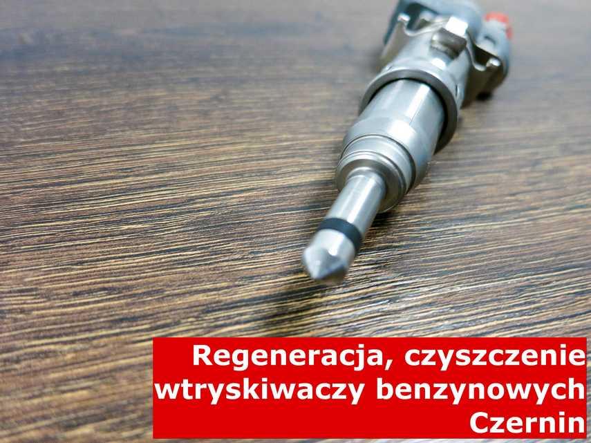 Wtrysk wtrysku bezpośredniego z Czernina w zakładzie regeneracji, testowany przy pomocy specjalnego sprzętu