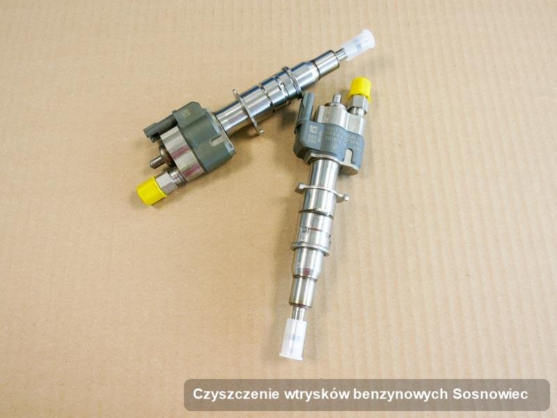 Wtryskiwacz benzyny zdiagnozowany na odpowiedniej aparaturze pomiarowej po wykonaniu usługi czyszczenie wtrysków benzynowych w dostępnym warsztacie w Sosnowcu