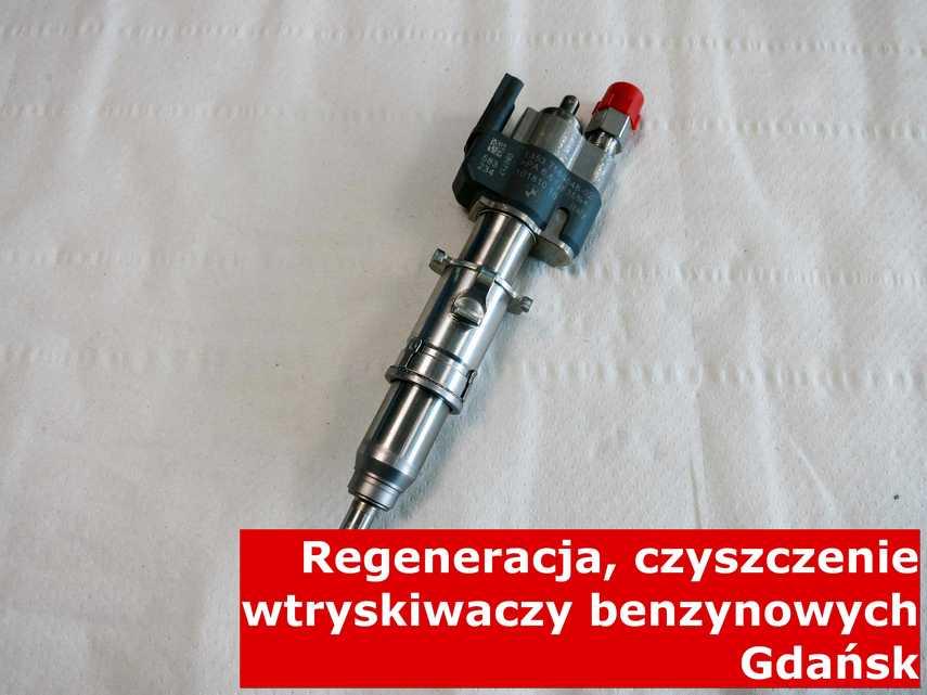 Wtryskiwaczy benzynowy w Gdańsku po regeneracji, testowany przy pomocy odpowiedniej maszyny