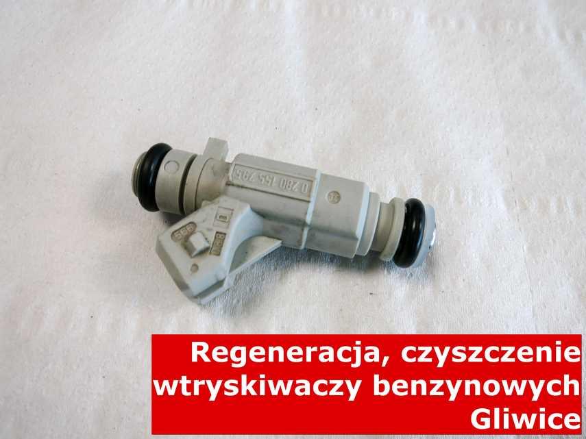 Wtrysk wielopunktowy z Gliwic po czyszczeniu, naprawiony na nowoczesnej maszynie
