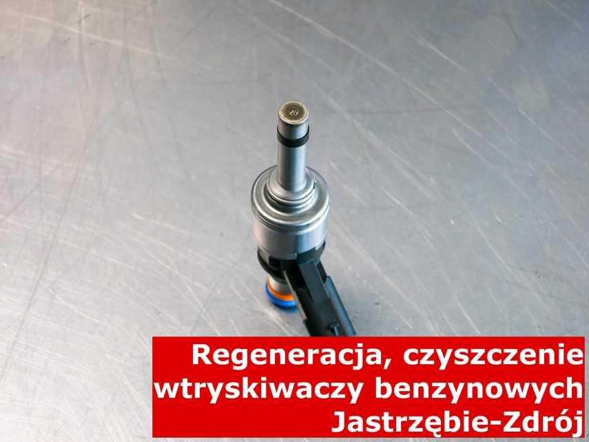 Wtryskiwacz w Jastrzębiu-Zdroju na stole, wyczyszczony przy pomocy odpowiedniej maszyny