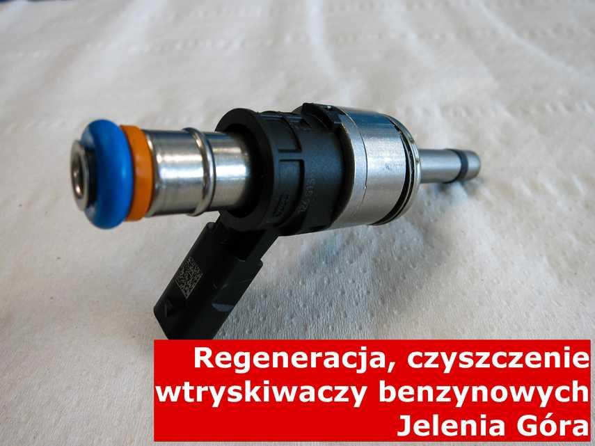 Wtrysk benzynowy w Jeleniej Górze po naprawie, zrewitalizowany na nowoczesnym sprzęcie