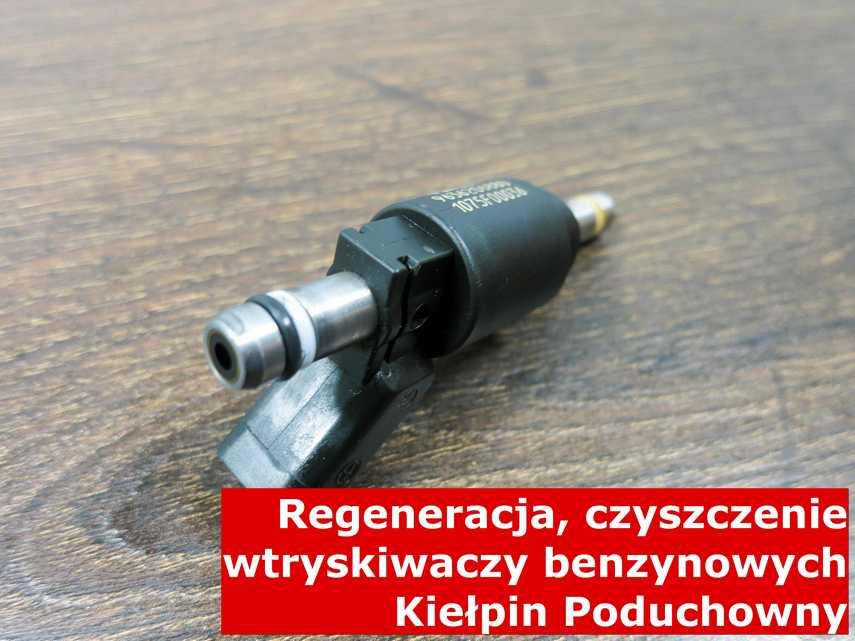 Wtrysk wielopunktowy w Kiełpinie Poduchownym na stole w laboratorium, testowany przy pomocy specjalnej maszyny