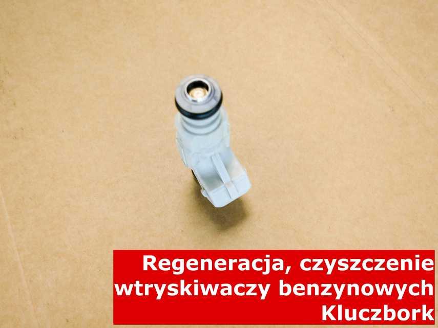 Wtryskiwacz piezoelektryczny benzynowy z Kluczborka po naprawie, po przywróceniu sprawności na odpowiednim sprzęcie