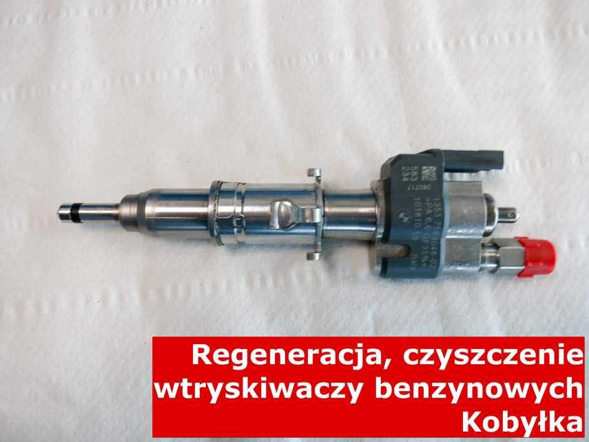 Wtrysk bezpośredni jednopunktowy z Kobyłki po regeneracji, wyczyszczony przy pomocy nowoczesnej maszyny