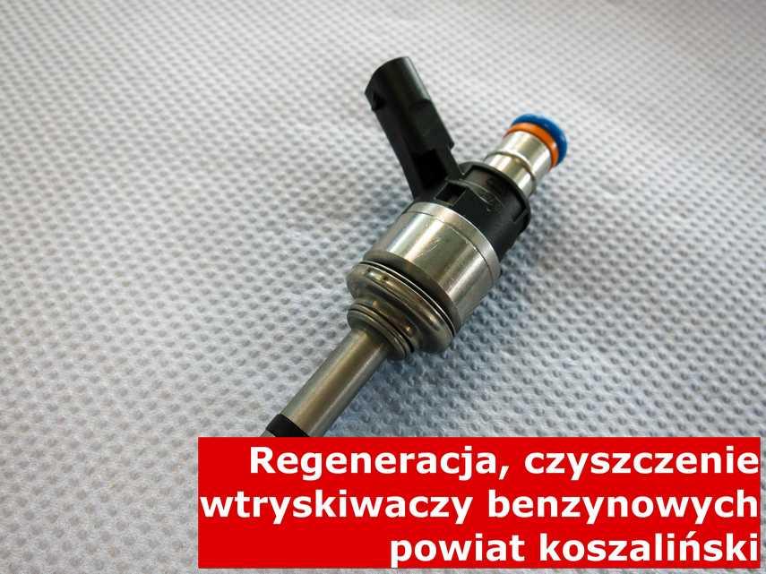 Wtrysk pośredni wielopunktowy w pracowni, po przywróceniu sprawności przy pomocy specjalnego sprzętu • powiat koszaliński