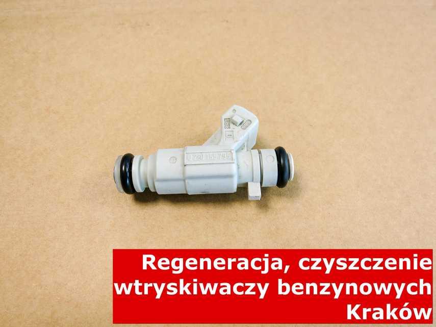 Wtryskiwaczy benzynowy z Krakowa po czyszczeniu, wyczyszczony przy pomocy specjalnego sprzętu