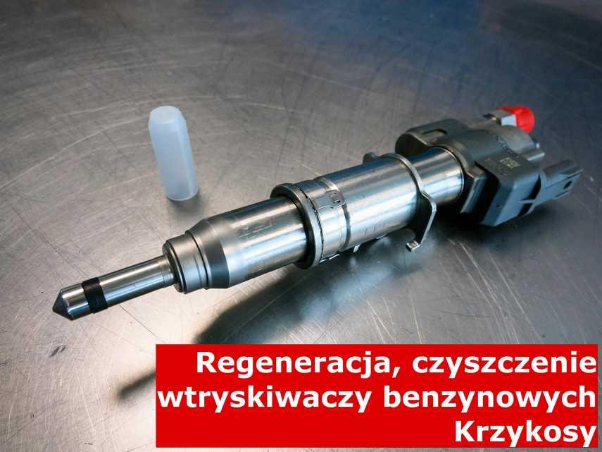Wtrysk benzyny z Krzykosów na stole, zrewitalizowany przy pomocy nowoczesnej maszyny