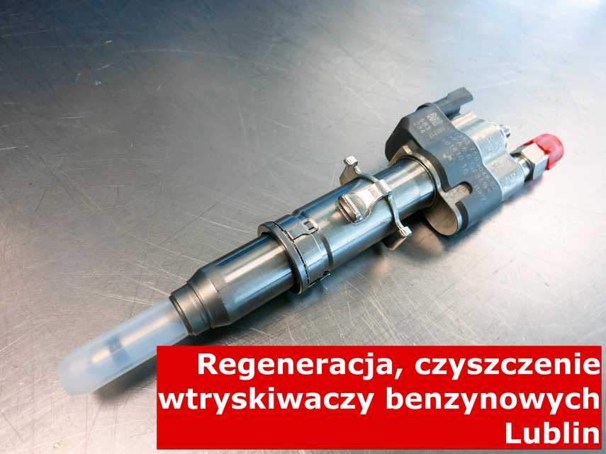 Wtryskiwacz pośredni wielopunktowy w Lublinie w pracowni, naprawiony na odpowiedniej maszynie