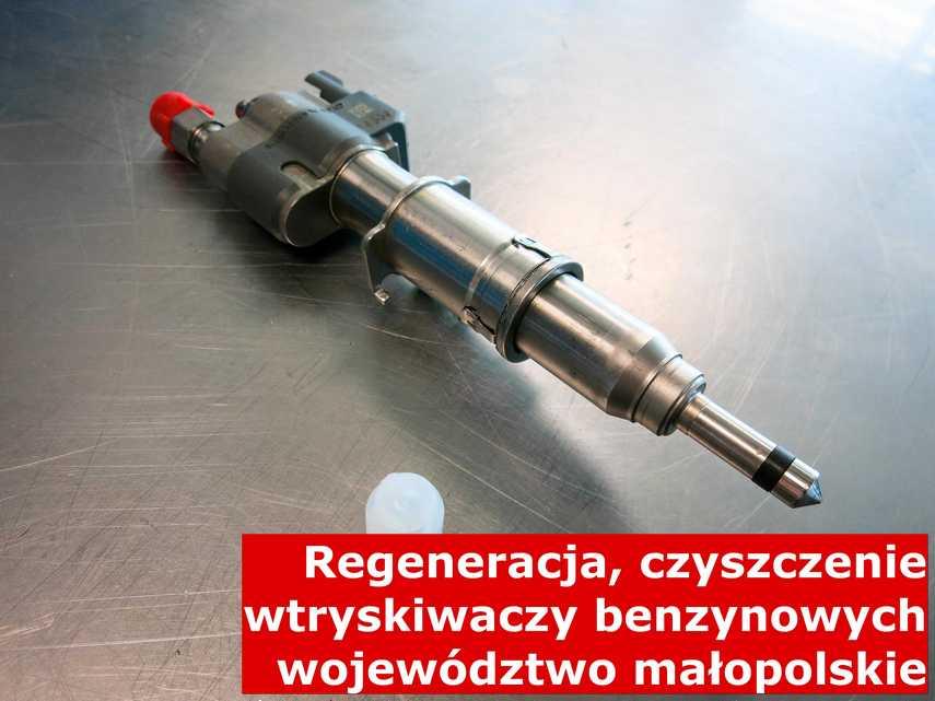 Wtryskiwacz wtrysku bezpośredniego w województwie małopolskim w zakładzie regeneracji, zregenerowany na odpowiednim sprzęcie