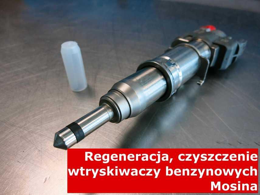Wtryskiwacz wielopunktowy w Mosinie w zakładzie regeneracji, zrewitalizowany przy pomocy specjalnego sprzętu