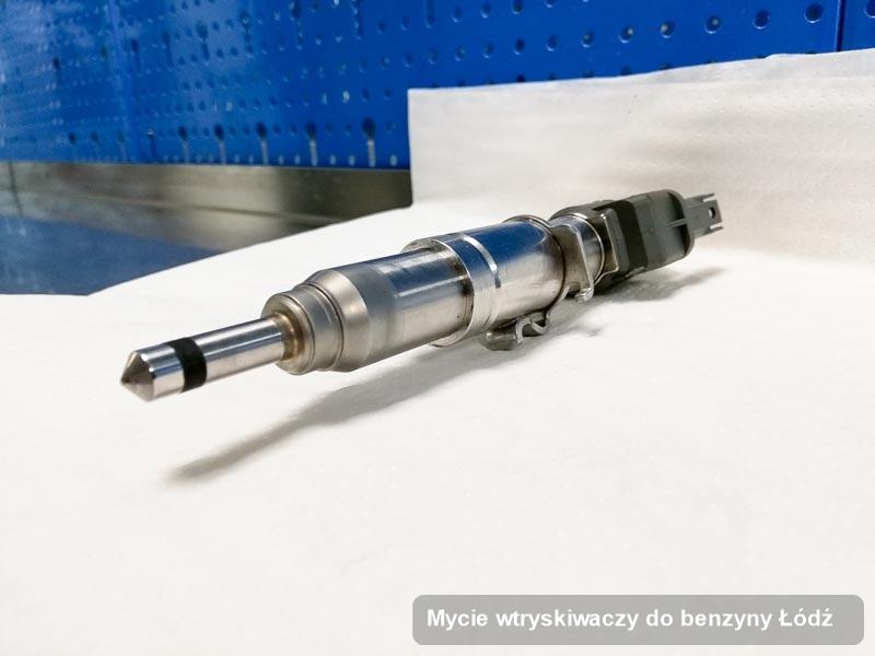 Wtrysk do benzyny oczyszczony na odpowiedniej aparaturze pomiarowej po wdrożeniu serwisu mycie wtryskiwaczy do benzyny w wybranej pracowni w mieście Łódź