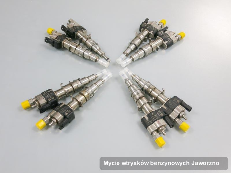 Wtryskiwacz wyczyszczony na odpowiedniej aparaturze pomiarowej po przeprowadzeniu zlecenia mycie wtrysków benzynowych w wybranej z firm w mieście Jaworzno