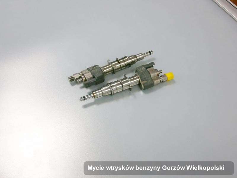 Wtryskiwacz benzyny wyczyszczony na specjalistycznej stacji probierczej po zrealizowaniu zlecenia mycie wtrysków benzyny w jednej z pracowni z Gorzowa Wielkopolskiego
