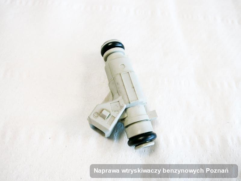 Wtryskiwacz benzyny zdiagnozowany na specjalistycznej aparaturze pomiarowej po zrealizowaniu serwisu naprawa wtryskiwaczy benzynowych w jednej z firm z Poznania