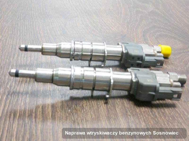 Wtryskiwacz benzyny zregenerowany poprzez czyszczenie na dedykowanej stacji diagnostycznej po wdrożeniu usługi naprawa wtryskiwaczy benzynowych w jednej z pracowni w Sosnowcu
