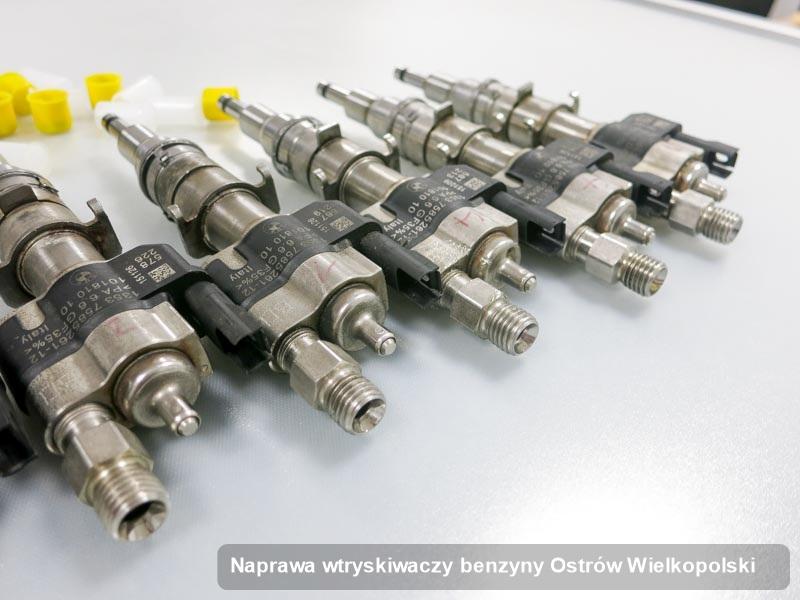 Wtryskiwacz benzyny zdiagnozowany na dedykowanej stacji probierczej po zrealizowaniu usługi naprawa wtryskiwaczy benzyny w wybranej z firm w mieście Ostrów Wielkopolski