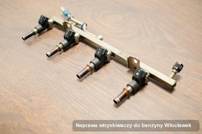 Wtrysk naprawiony na dedykowanej maszynie po wdrożeniu serwisu naprawa wtryskiwaczy do benzyny w wybranym z warsztatów w mieście Włocławek