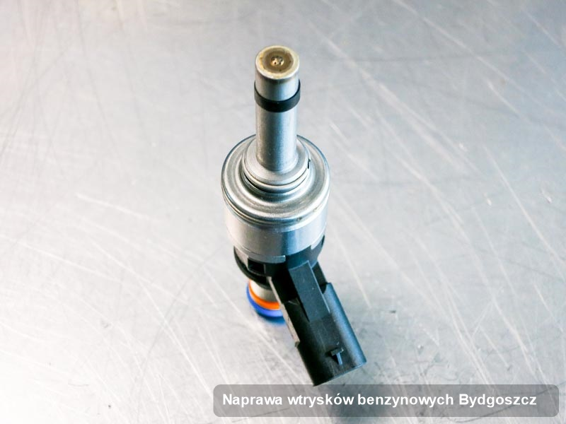Wtrysk benzyny zregenerowany poprzez czyszczenie na specjalistycznej stacji probierczej po wdrożeniu usługi naprawa wtrysków benzynowych w dostępnej firmie z Bydgoszczy