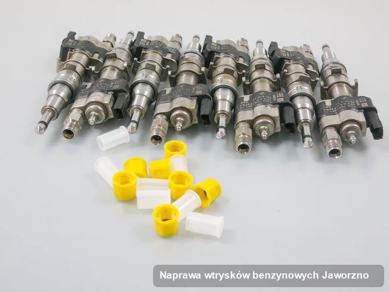 Wtryskiwacz naprawiony na specjalistycznej maszynie po wdrożeniu usługi naprawa wtrysków benzynowych w wybranej pracowni w mieście Jaworzno
