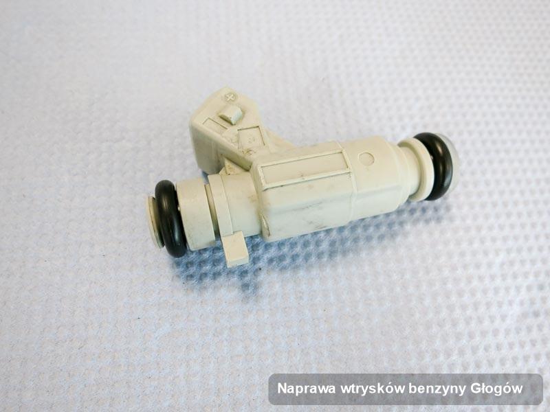 Wtryskiwacz do benzyny zregenerowany poprzez czyszczenie na odpowiedniej aparaturze pomiarowej po wdrożeniu usługi naprawa wtrysków benzyny w dostępnym warsztacie w Głogowie