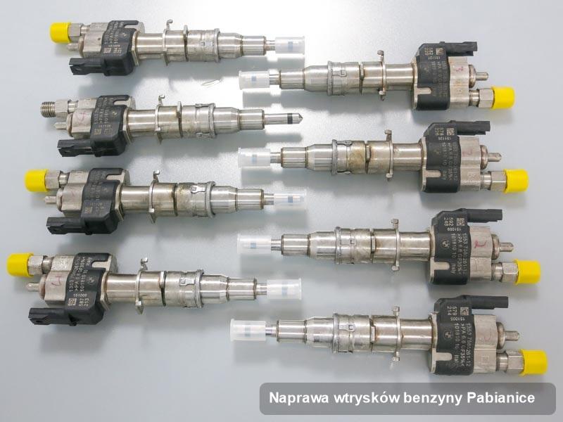 Wtrysk benzyny naprawiony na specjalistycznej stacji probierczej po wdrożeniu serwisu naprawa wtrysków benzyny w wybranym z warsztatów w Pabianicach