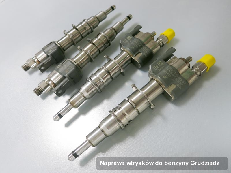 Wtrysk wyremontowany na odpowiedniej maszynie po zrealizowaniu usługi naprawa wtrysków do benzyny w jednej z firm w mieście Grudziądz