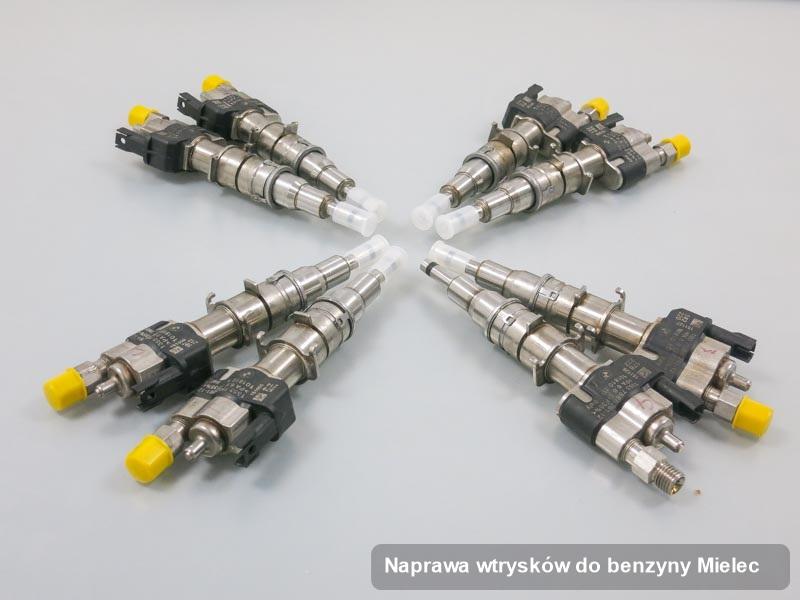 Wtryskiwacz benzyny naprawiony na specjalistycznej stacji probierczej po przeprowadzeniu usługi naprawa wtrysków do benzyny w wybranej z firm w mieście Mielec