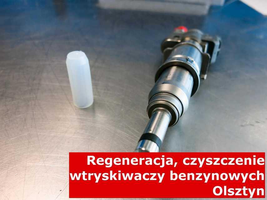 Wtrysk jednopunktowy w Olsztynie w pracowni na stole, zrewitalizowany na odpowiedniej maszynie