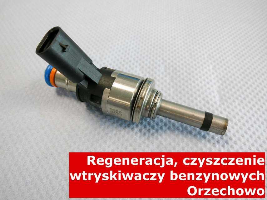Wtryskiwacz pośredni jednopunktowy w Orzechowie po regeneracji, wyczyszczony na nowoczesnej maszynie