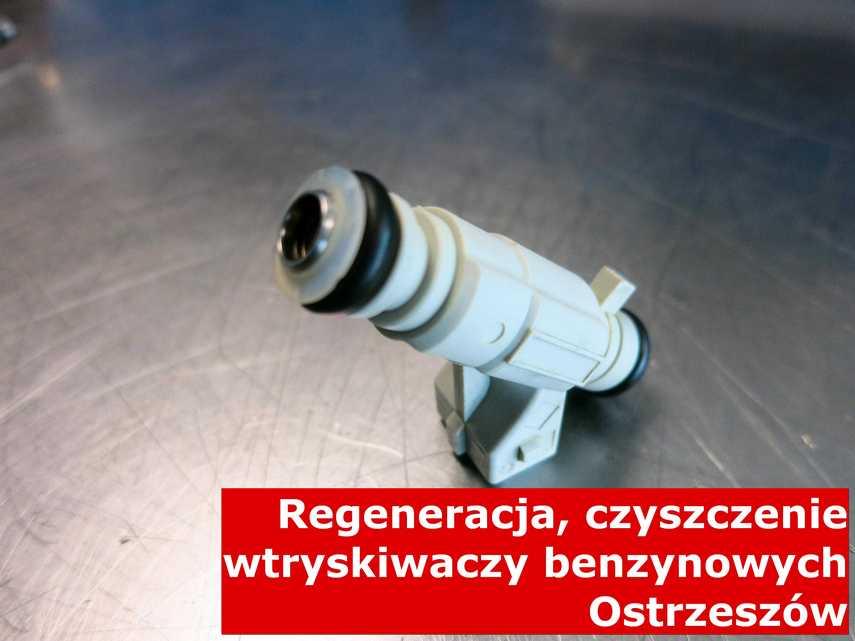 Wtrysk piezoelektryczny z Ostrzeszowa po regeneracji, naprawiony przy pomocy specjalnej maszyny