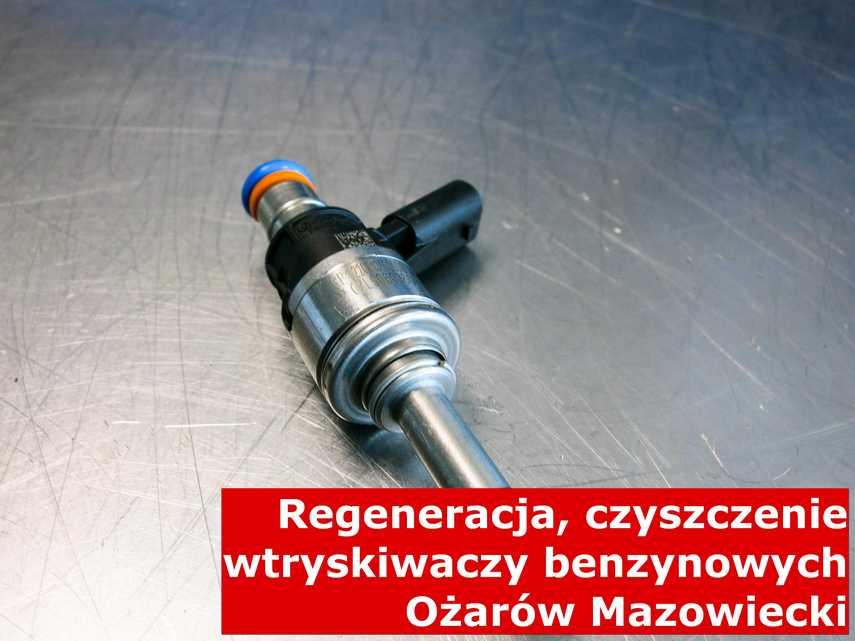 Wtrysk piezoelektryczny w Ożarowie Mazowieckim w zakładzie regeneracji, naprawiony przy pomocy nowoczesnego sprzętu