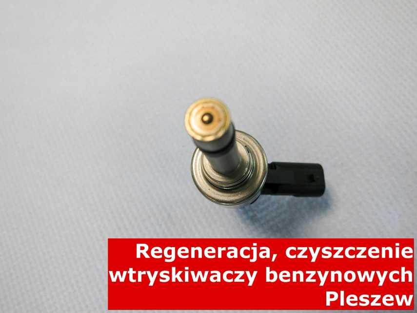 Wtrysk jednopunktowy w Pleszewie po czyszczeniu, wyczyszczony przy pomocy specjalnego sprzętu