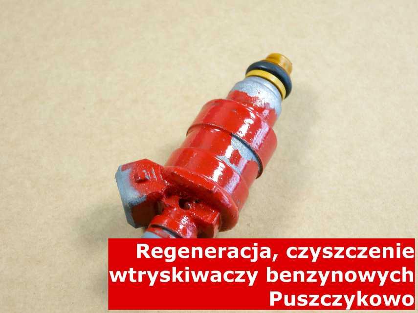 Wtryskiwacz piezoelektryczny benzynowy w Puszczykowie w pracowni regeneracji, po przywróceniu sprawności na nowoczesnej maszynie