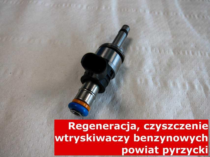 Wtryskiwacz wtrysku pośredniego po czyszczeniu, naprawiony przy pomocy specjalnej maszyny • powiat pyrzycki
