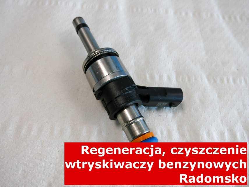 Wtrysk wtrysku pośredniego z Radomska w pracowni, testowany przy pomocy odpowiedniego sprzętu
