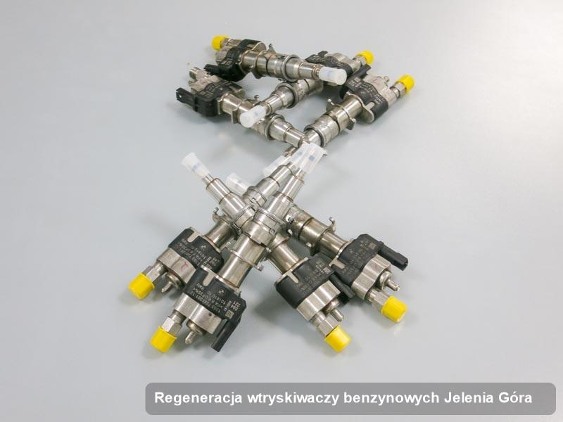Wtryskiwacz benzyny zdiagnozowany na specjalistycznej stacji diagnostycznej po przeprowadzeniu usługi regeneracja wtryskiwaczy benzynowych w jednej z firm z Jeleniej Góry