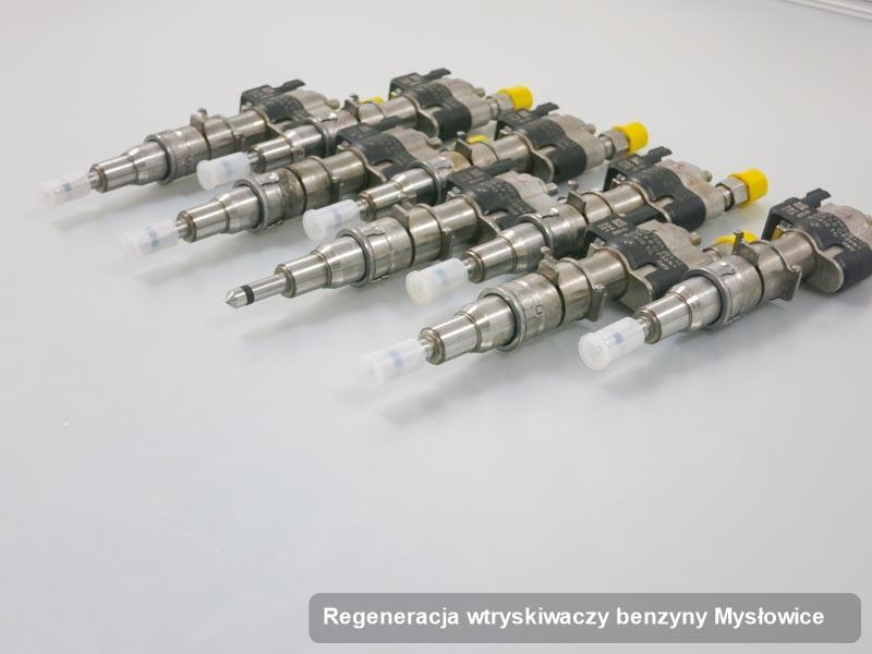 Wtrysk oczyszczony na odpowiedniej stacji probierczej po zrealizowaniu serwisu regeneracja wtryskiwaczy benzyny w dostępnej pracowni z Mysłowic