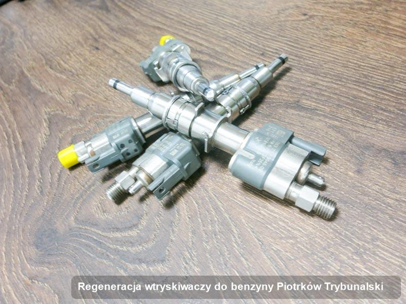 Wtrysk do benzyny oczyszczony na dedykowanej aparaturze pomiarowej po zrealizowaniu zlecenia regeneracja wtryskiwaczy do benzyny w wybranym z warsztatów z Piotrkowa Trybunalskiego
