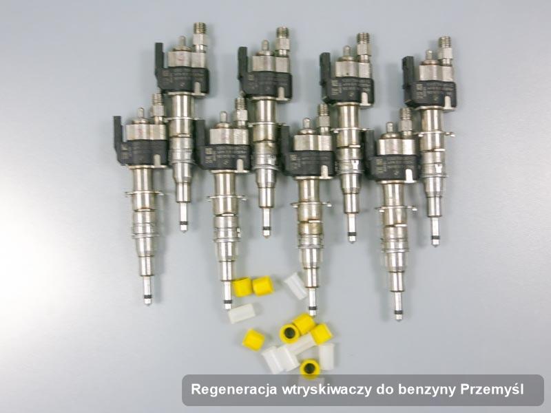 Wtryskiwacz do benzyny zregenerowany poprzez czyszczenie na odpowiedniej stacji probierczej po wykonaniu zlecenia regeneracja wtryskiwaczy do benzyny w dostępnym warsztacie z Przemyśla