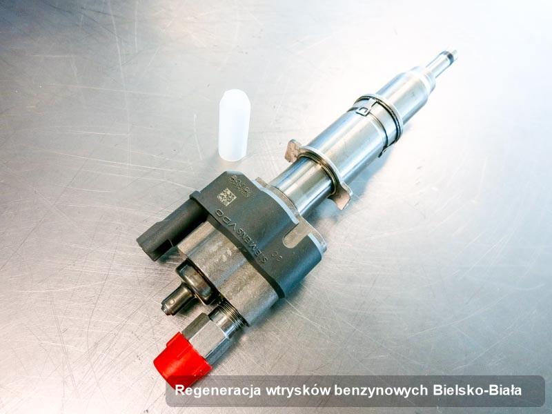 Wtrysk zdiagnozowany na dedykowanej stacji diagnostycznej po przeprowadzeniu zlecenia regeneracja wtrysków benzynowych w wybranej z firm z Bielska-Białej