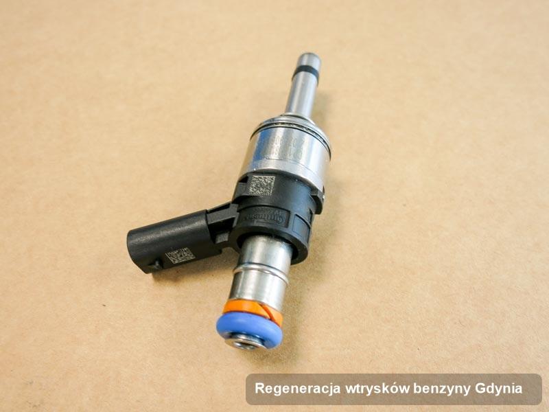 Wtrysk zregenerowany poprzez czyszczenie na profesjonalnej aparaturze pomiarowej po wykonaniu serwisu regeneracja wtrysków benzyny w jednej z pracowni z Gdyni