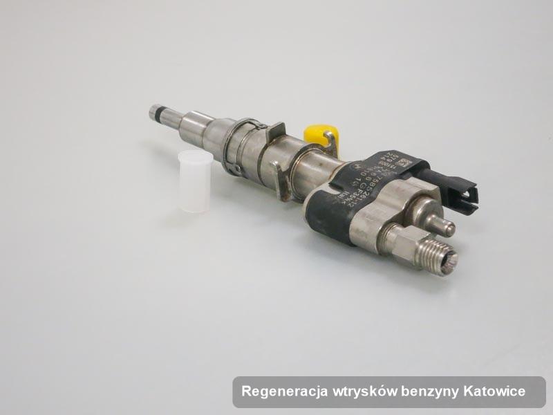Wtryskiwacz do benzyny wyczyszczony na odpowiedniej stacji diagnostycznej po zrealizowaniu usługi regeneracja wtrysków benzyny w dostępnej firmie w Katowicach